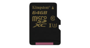 Kingston представила microSD-карту для записи 4К-видео
